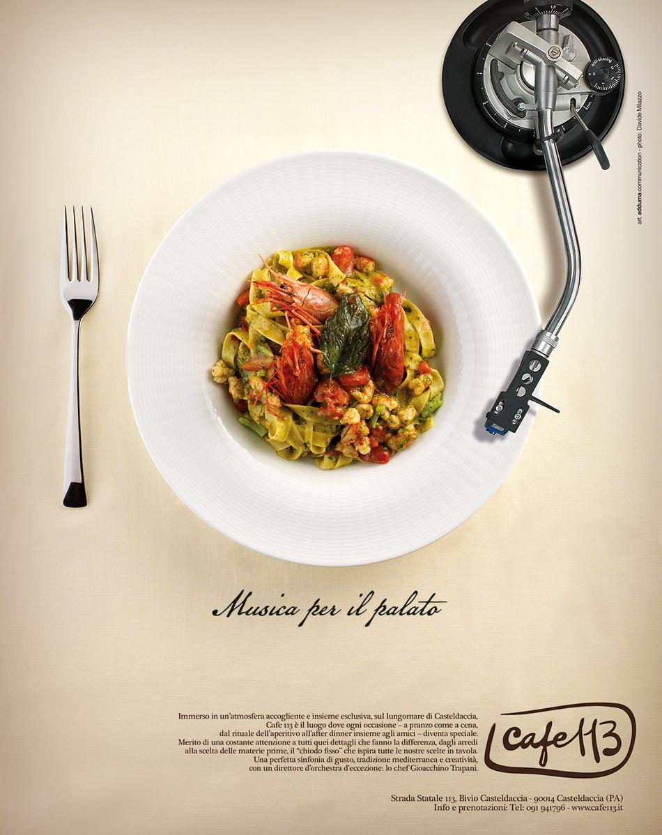 Cafe 113 Campagna Stampa Adduma Comunicazione
