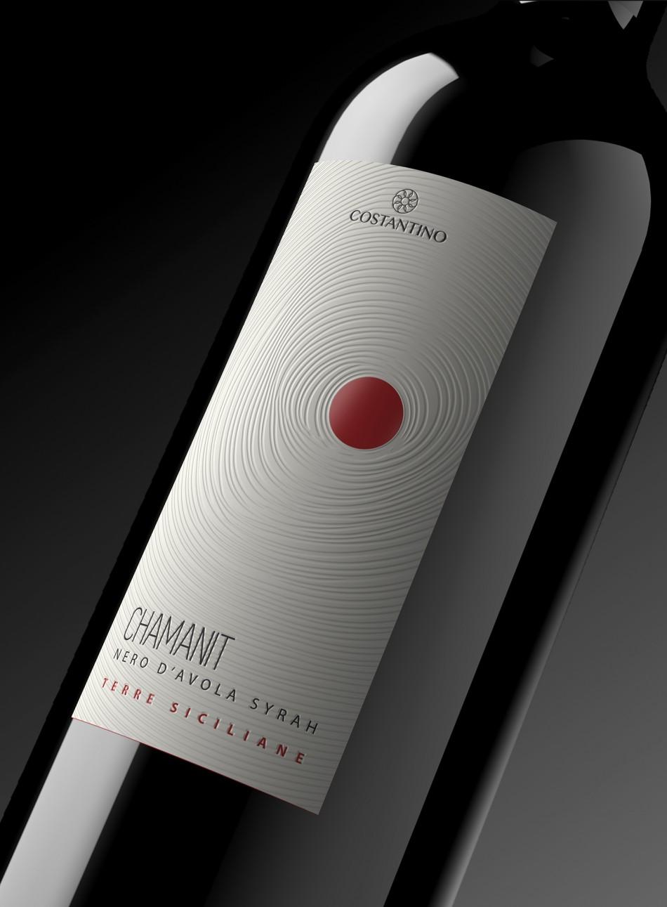 Etichetta vino Chamanit Rosso