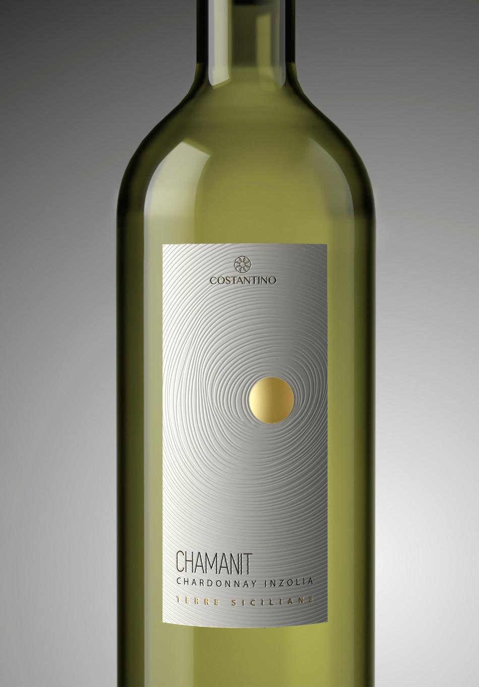 Etichetta vino Chamanit Bianco