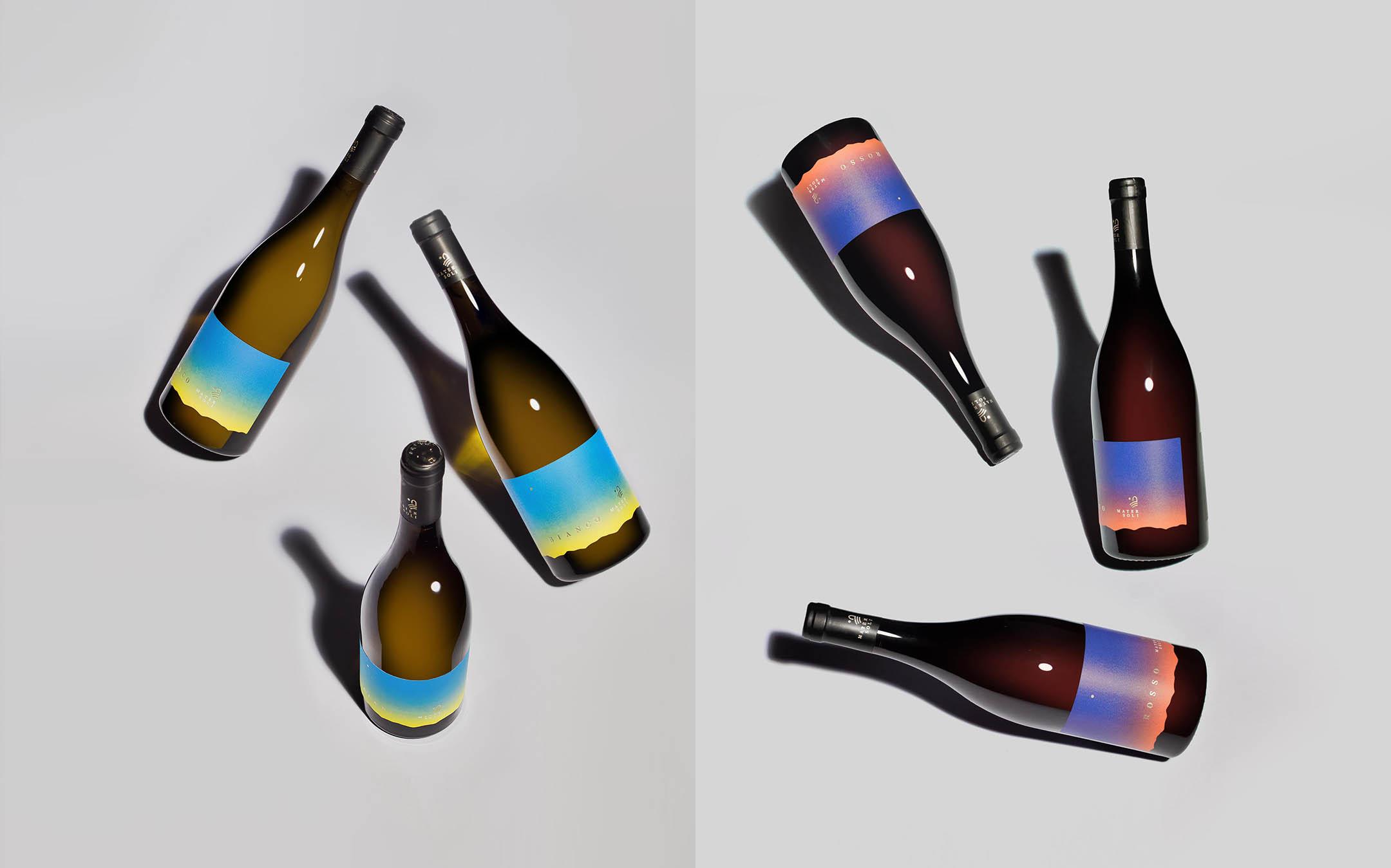 bottiglie insieme
